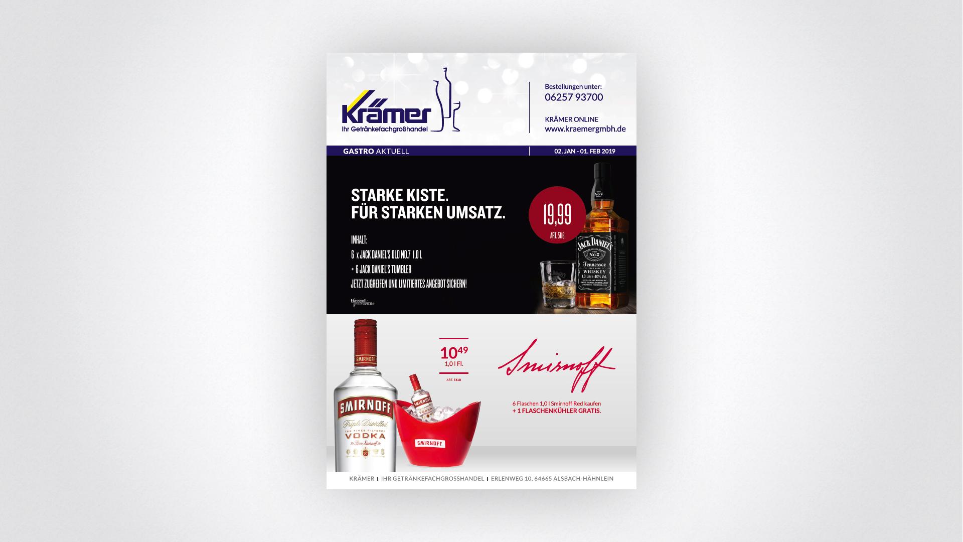Krämer Getränke GmbH & Co. KG in Alsbach-Hähnlein