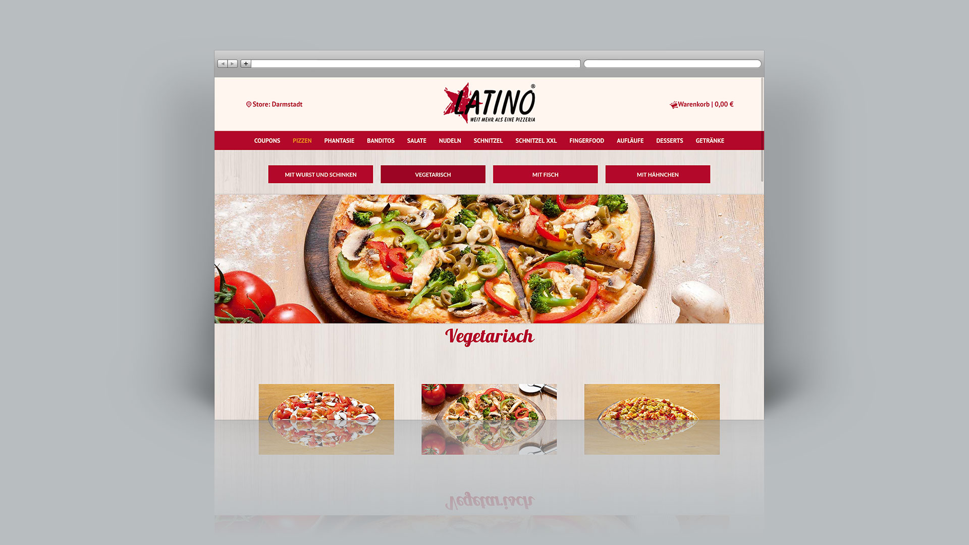 Latino Pizza Darmstadt