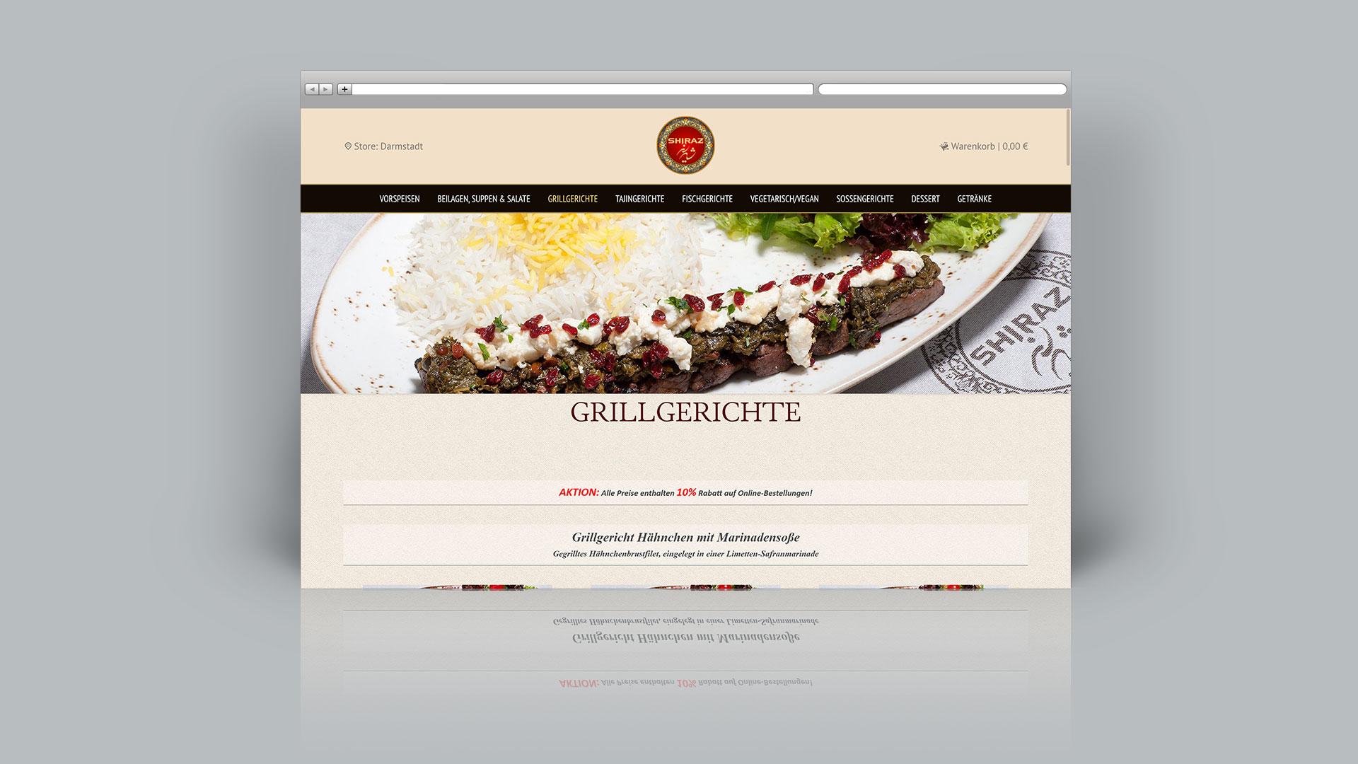 Shiraz Restaurant Darmstadt